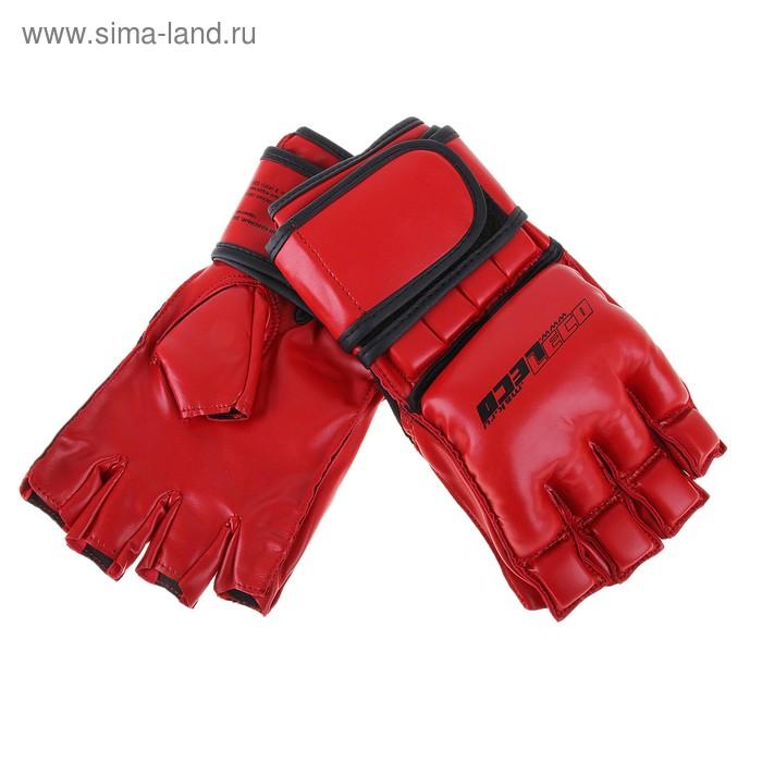 Перчатки для рукопашного боя красные, р.M т00302