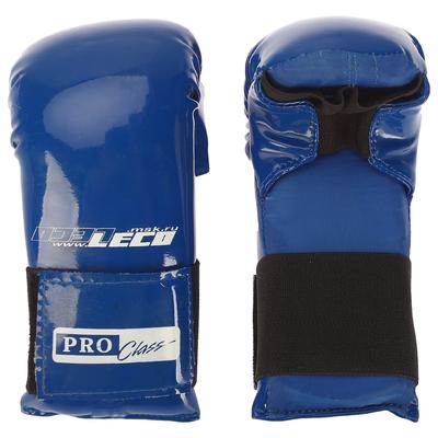 Перчатки спарринговые, цвет синий, р.S т44-4