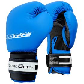 Перчатки боксерские, 12 унций, цвет синий