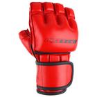 Перчатки для рукопашного боя, размер S, цвет красный