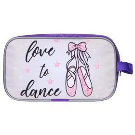 Чехол для обуви mini, ткань п/э, 25 х 13 х 10 см, цвет фиолетовый, 301-007