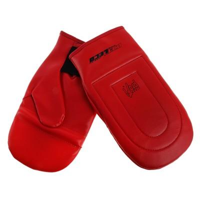 Перчатки снарядные, размер L, цвет: красный