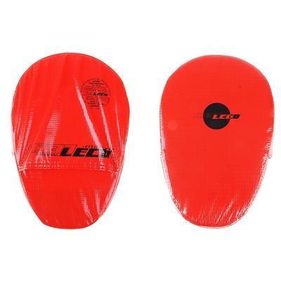 Лапа боксерская, размер 21 х 30 см, цвет красный