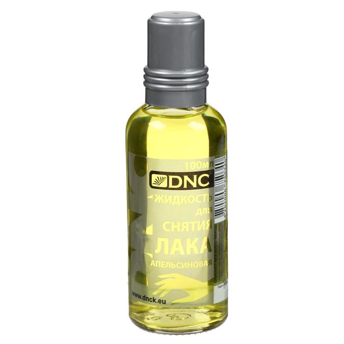 Жидкость для снятия лака апельсиновая DNC стекло 100 мл