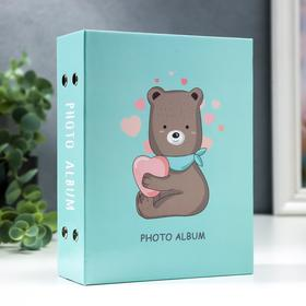 "Фотоальбом на 100 фото 10х15 см  ""Мишка"""