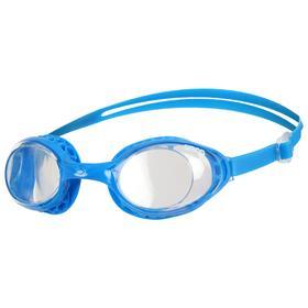 Очки для плавания ARENA Airsoft, прозрачные линзы, нерегулируемая переносица, синяя оправа