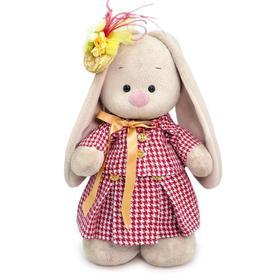 Мягкая игрушка «Зайка Ми», в костюме из твида, 25 см