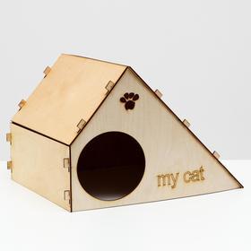"""Домик для кошек """"My Cat"""", 44,5 х 35 х 30 см"""