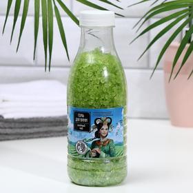 Соль для ванн Доктор Шустер зеленый чай, 600 г