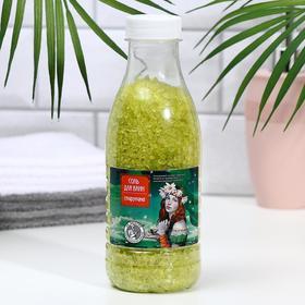 Соль для ванн Доктор Шустер спирулина, 600 г