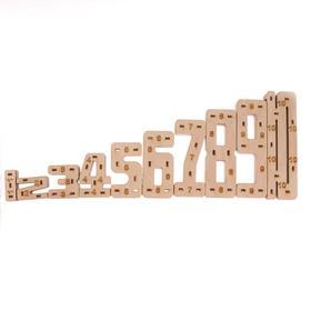 Конструктор из дерева «Весёлый счёт»