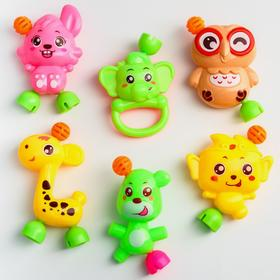 Набор погремушек «Давай играть», 6 игрушек