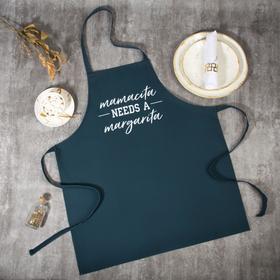 Фартук Этель Mamacita needs a margarita 60х70 см, 100% хлопок, репс 210 г/м2