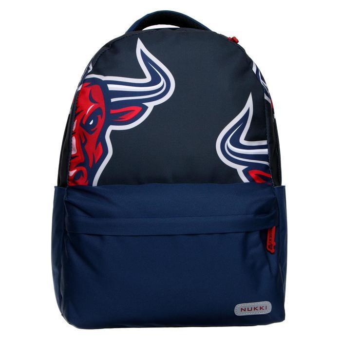 Рюкзак молодёжный, Nukki, 42 x 30 x 15 см, эргономичная спинка, «Бык» - фото 858383