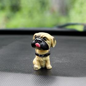 Собака на панель авто, качающая головой, мини, СП 27 в Донецке