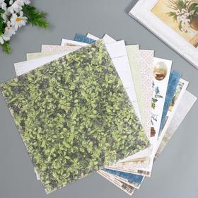 """Набор бумаги для скрапбукинга Craft Paper """"Хочу в поход"""" 30.5х30.5 см, 16 листов"""