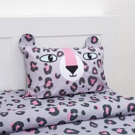Постельное белье Этель 1,5 сп Happy leopard 143х215 см, 150х214 см, 50х70 см -1 шт
