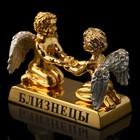 Сувенир знак зодиака «Близнецы», с кристаллами Сваровски