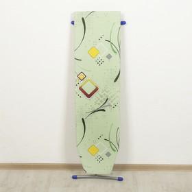 Доска гладильная «Эконом», 106,5×29 см, ДСП, два положения высоты (70,80 см), рисунок МИКС - фото 4636196