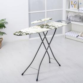Доска гладильная Nika «Белль Классик 2», 112×34,5 см, два положения высоты 70, 80 см, европодставка, МИКС