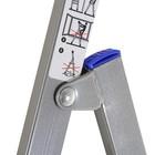 Стремянка Nika СМ7, металлическая, высота до рабочей площадки 1510 мм, 7 ступеней - фото 877629