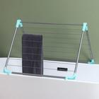 Сушилка для белья в ванну, складная 10 м - фото 4635155