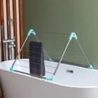 Сушилка для белья в ванну, складная 10 м - фото 4635156