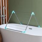 Сушилка для белья в ванну, складная 10 м - фото 4635159