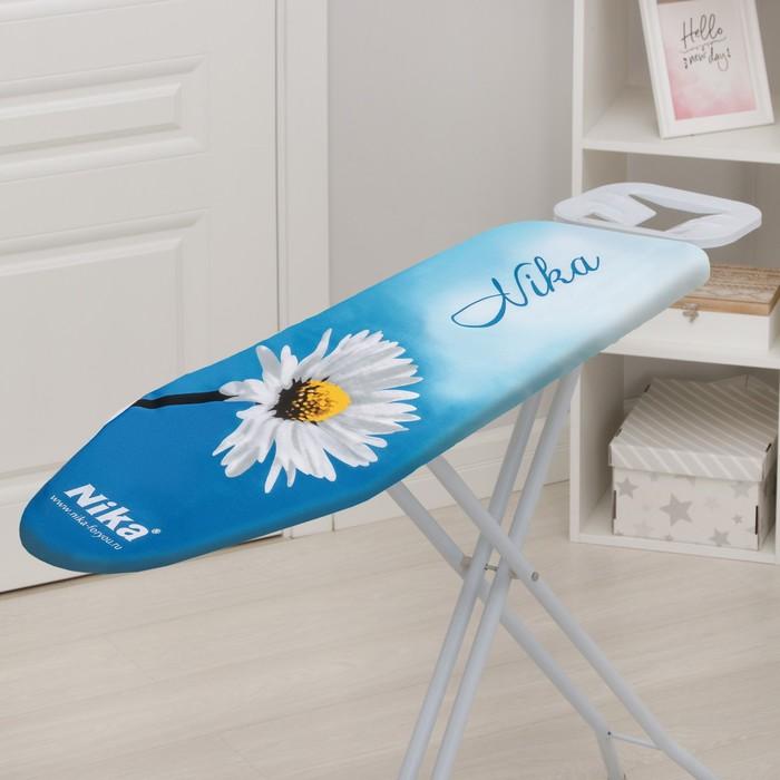 Чехол с поролоном для гладильной доски универсальный, бязь 129х51 см, цвет МИКС