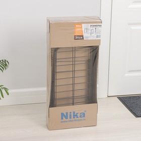 Полка для обуви разборная, 2 яруса, 68×28×44 см, цвет медный антик - фото 4643002