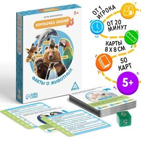 Игра-викторина «Коробочка знаний. Факты о животных», 5+