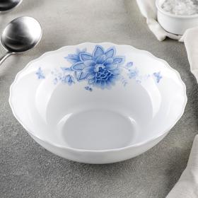 {{photo.Alt || photo.Description || 'Тарелка суповая Доляна «Синий бриз», d=18 см, цвет белый'}}