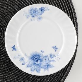Тарелка пирожковая Доляна «Синий бриз», d=15 см