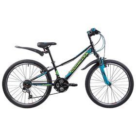 """Велосипед 24"""" Novatrack Valiant, 2019, цвет черный, размер 10"""""""