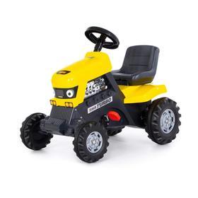Педальная машина для детей «Turbo», цвет жёлтый