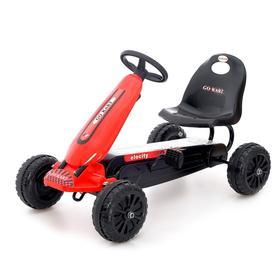 Веломобиль HOT CAR, цвет красный