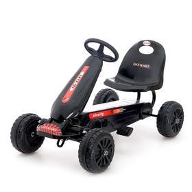 Веломобиль HOT CAR, цвет чёрный