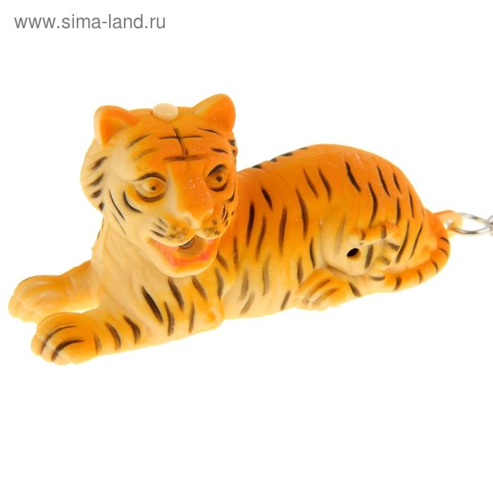 """Брелок-кричалка световой """"Тигр"""""""