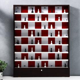 "Панно настенное ""Шахматы"" 64х50 см (клетка 6 см)+32 фигуры"