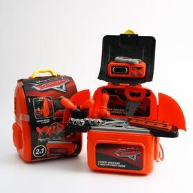 Игровой набор «Супер-рюкзак с инструментами», Тачки