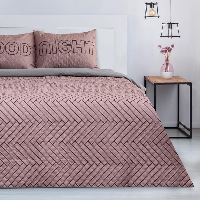 """Комплект """"Этель"""" Goodnight, покрывало 180х220  ±5 см и наволочки 50х70 - 2 шт, микрофибра - фото 861810"""