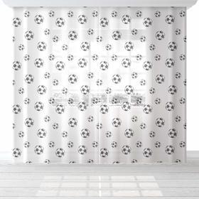 """Комплект тюлей """"Этель"""" Goal, 145*260 см-2 шт, 100% п/э"""