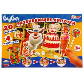 Настольная игра с липучками «Буба»
