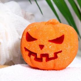 Бомбочка для ванн «Тыква», апельсин
