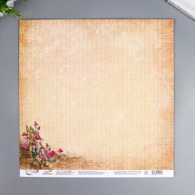 "Бумага для скрапбукинга Mr.Painter ""Лесная магия"" 30,5x30,5 см, 190 гр/м2"