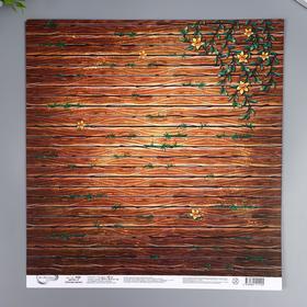 "Бумага для скрапбукинга Mr.Painter ""Лесная магия 3"" 30,5x30,5 см, 190 гр/м2"