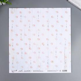 """Бумага для скрапбукинга Mr.Painter """"Дом с воспоминаниями"""" 30,5x30,5 см, 190 гр/м2"""