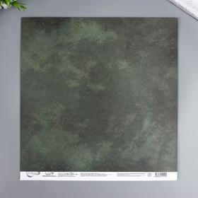 "Бумага для скрапбукинга Mr.Painter ""Армейская жизнь 4"" 30,5x30,5 см, 190 гр/м2"