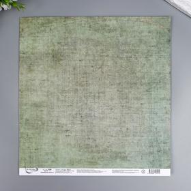 "Бумага для скрапбукинга Mr.Painter ""Армейская жизнь 6"" 30,5x30,5 см, 190 гр/м2"