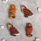 """Magnet """"Owl on branch"""", a MIX"""